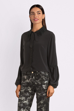 Chemise manches longues MOLLY BRACKEN G648A19 Noir