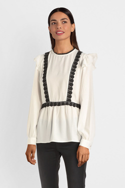 Blouse MOLLY BRACKEN G643A19 Blanc