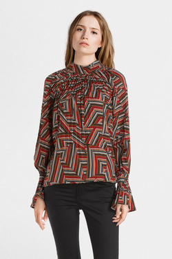 Blouse MOLLY BRACKEN E1151A19 Rouge bordeaux