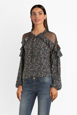 Blouse MOLLY BRACKEN G659AA19 Noir