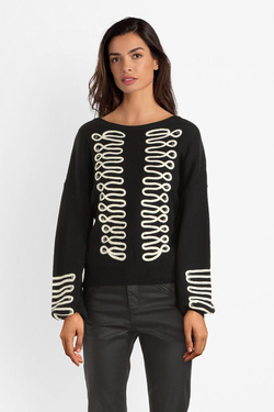 Pull MOLLY BRACKEN S3845H19 Noir