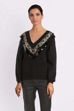 Pull MOLLY BRACKEN M2648H19 Noir