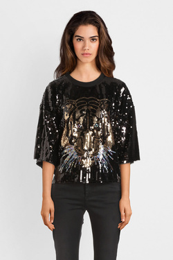 Sweat-shirt MOLLY BRACKEN W737A19 Noir
