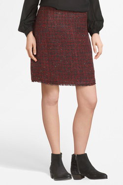 Jupe MOLLY BRACKEN T392AH19 Rouge bordeaux