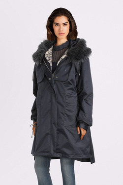 Parka MOLLY BRACKEN OR133A19 Bleu marine