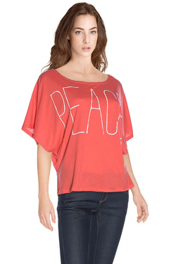 MOLLY BRACKEN - Tee-shirtS1036E16Corail