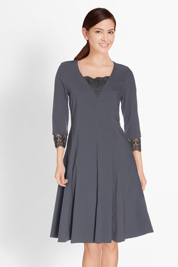 Robe MYRINE AND ME 070461/ELISE Bleu gris