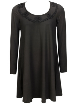MYRINE AND ME Robe noir TANTAN