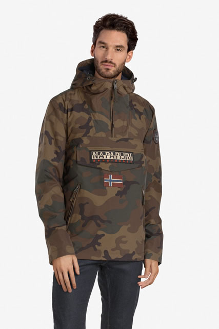 Blouson rainforest pocket camouflage NAPAPIJRI