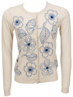 NICE THINGS Gilet beige WKA006