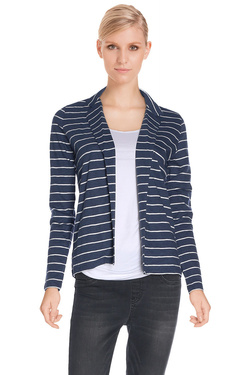 NICE THINGS Veste bleu marine WJC023