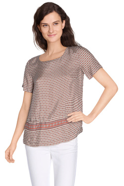 NICE THINGS Blouse marron WWC515