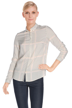 NICE THINGS Chemise manches longues ecru WWC402