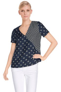 NICE THINGS Blouse bleu marine WWC544