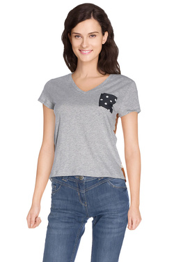 NICE THINGS Tee-shirt gris WJC081