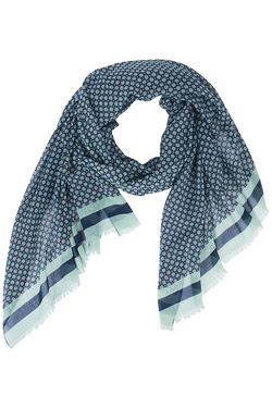 NICE THINGS Foulard bleu marine WFC005