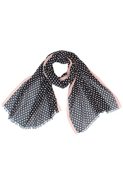 NICE THINGS Foulard noir WFC040