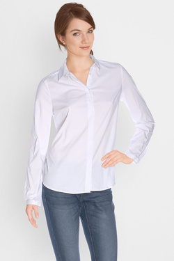 Chemise manches longues NINA KALIO 49NK2CH302 Blanc