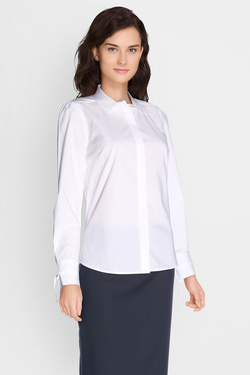 Chemise manches longues NINA KALIO 50NK2CH201 Blanc