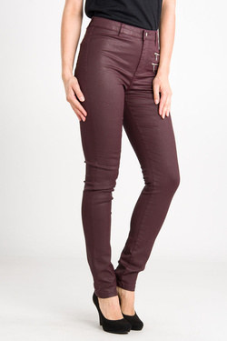 Pantalon NINA KALIO 54NK2PS400 Rouge bordeaux