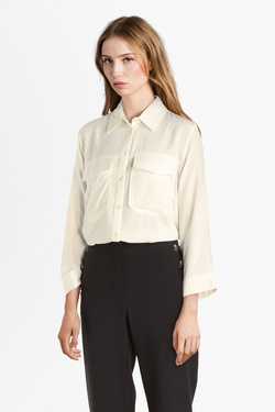 Chemise manches longues NINA KALIO 54NK2CH303 Blanc