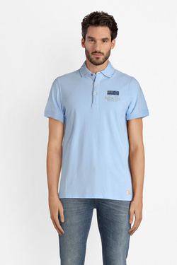 Polo NZA NEW ZEALAND AUCKLAND 18BN153C Bleu ciel