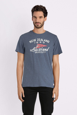 Tee-shirt NZA NEW ZEALAND AUCKLAND 18BN705C Bleu