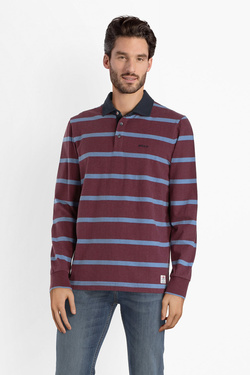 Polo NZA NEW ZEALAND AUCKLAND 18GN206 Rouge bordeaux
