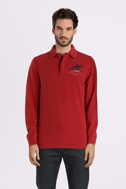 Polo NZA NEW ZEALAND AUCKLAND 18HN209 Rouge