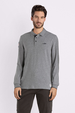 Polo NZA NEW ZEALAND AUCKLAND 18HN203 Gris