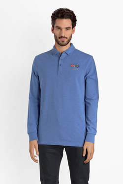 Polo NZA NEW ZEALAND AUCKLAND 18GN202 Bleu