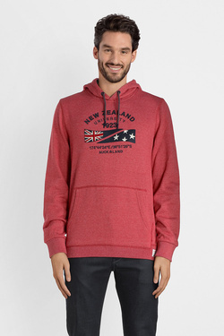 Sweat-shirt NZA NEW ZEALAND AUCKLAND 18GN300 Rouge