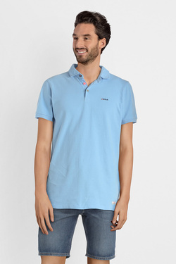Polo NZA NEW ZEALAND AUCKLAND 19CN150 Bleu ciel