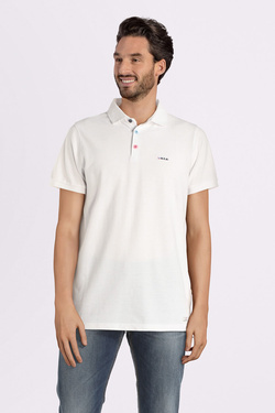 Polo NZA NEW ZEALAND AUCKLAND 19CN150 Blanc
