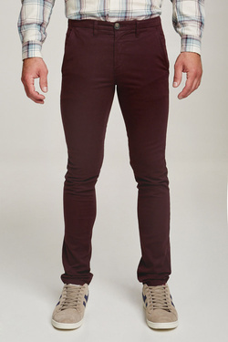 Pantalon ODB 46OD1PS900 Violet prune