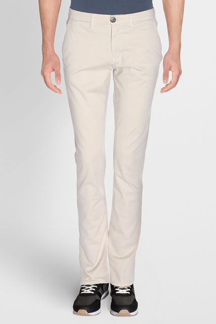 PANTALON CHINO EN COTON STRETCH ODB