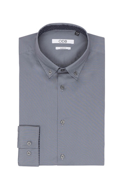 Chemise manches longues ODB 50OD1CV900 Gris
