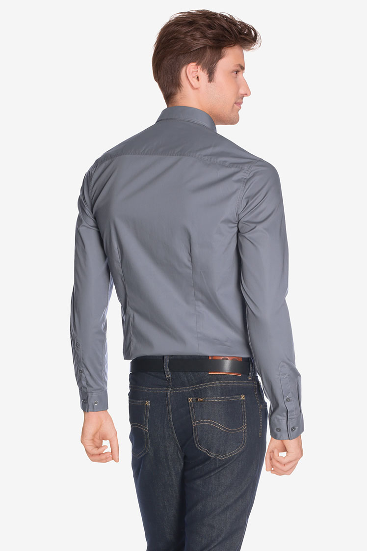 odb chemise manches longues 50od1cv900 gris homme