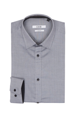 Chemise manches longues ODB 50OD1CV052 Gris