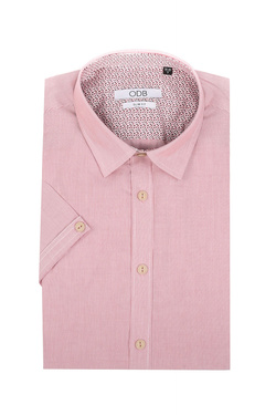 Chemise manches courtes ODB 51OD1CV402 Rose