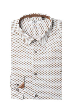 Chemise manches longues ODB 52OD1CV003 Camel