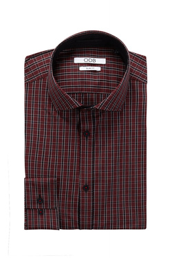Chemise manches longues ODB 52OD1CV201 Rouge