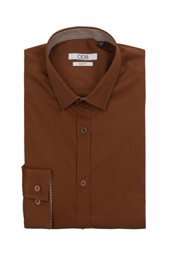 Chemise manches longues ODB 52OD1CV006 Marron