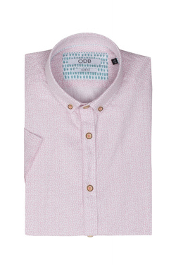 Chemise manches courtes ODB 51OD1CV406 Rose