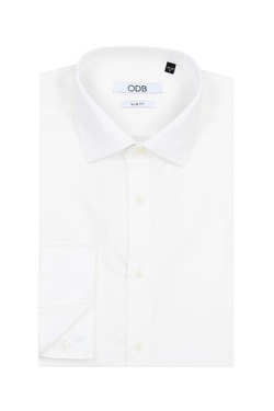 Chemise manches longues ODB 53OD1CV900 Ivoire