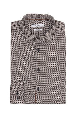 Chemise manches longues ODB 54OD1CS301 Marron