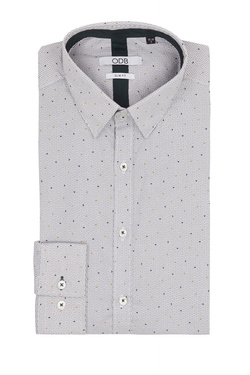 Chemise manches longues ODB 54OD1CS202 Gris