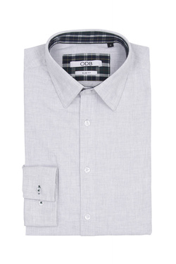 Chemise manches longues ODB 54OD1CS203 Gris clair