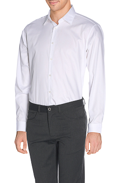 Chemise manches longues ODB OD CERISE Blanc