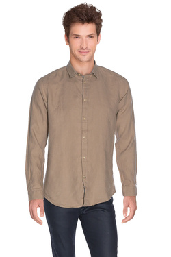 ODB - Chemise manches longues47OD1CV400Taupe